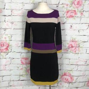 Nine West long sleeve dress